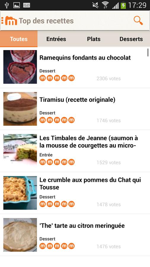 Marmiton recettes de cuisine chinandroid - Recette de cuisine marmiton ...