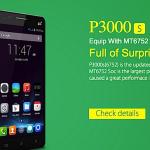 Elephone P3000s MT6752 64bit 4G