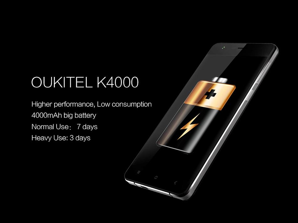 OUKITEL K4000 - 4000mAh