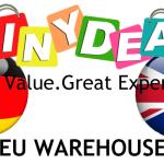 Stock Européen TinyDeal: pas de taxes
