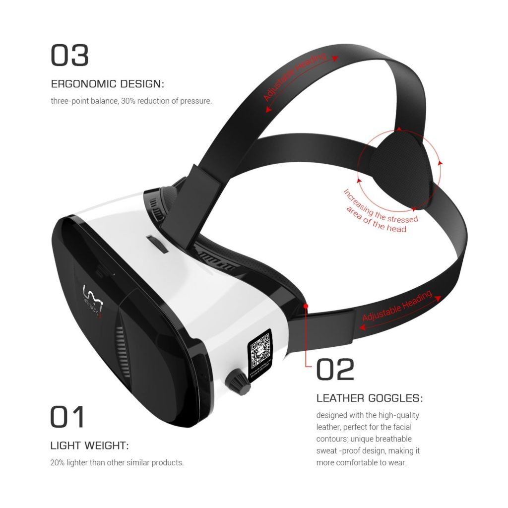 UMI VR BOX 3 - ajustable