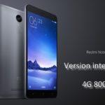 Xiaomi Redmi Note 3 Pro internationale 4G 800MHz
