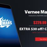Précommande Vernee Mars: coupon de réduction