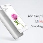 Xiaomi Mi Max 2 Snapdragon 660 6Go Ram