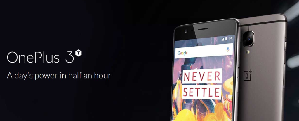 Oneplus 3t coupon code