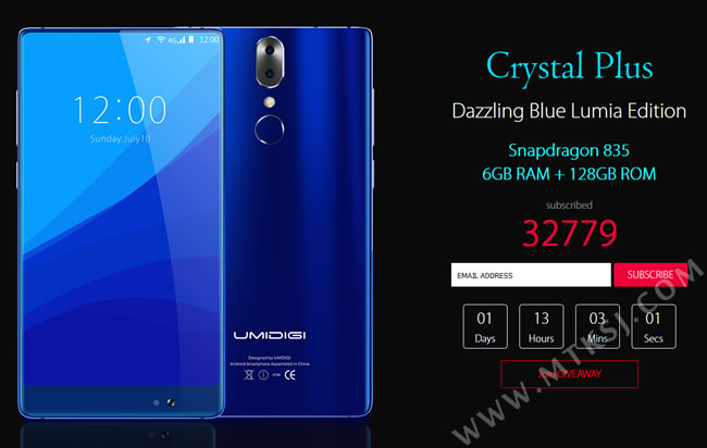 Umidigi Crystal Plus