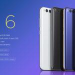 Xiaomi Mi6 6Go RAM 64Go code promo à €359.44
