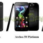 Archos lance sa gamme de smartphones Dual-sim
