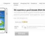 Jiayu G4 1Go Ram batterie 3000mAh en précommande à 125 euro le 28 Avril