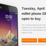 Xiaomi Mi-2S 32Go: 200.000 unités vendu en 45 secondes