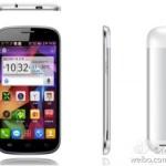 Mogu M5n 5 pouces HD MT6589 NFC OTG MHL