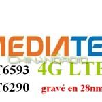 Smartphones chinois 4G LTE avec les CPU MediaTek MT6290 et MT6593
