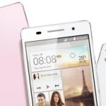 Ascend P6: Huawei présente fièrement le smartphone le plus fin du monde