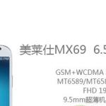 Mlais MX69 6.5 pouces Full HD 1080p MT6589T 1.5GHz 2Go Ram