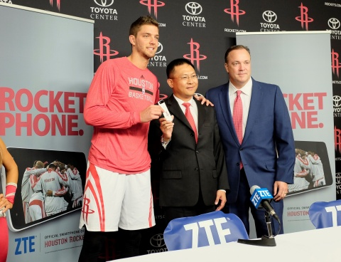 ZTE partenaire NBA Rockets de Houston