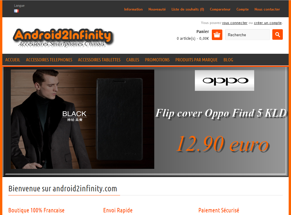 android2infinity.com accessoires smartphone chinois