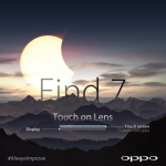 Oppo Find 7 5.5 au MWC de Barcelone