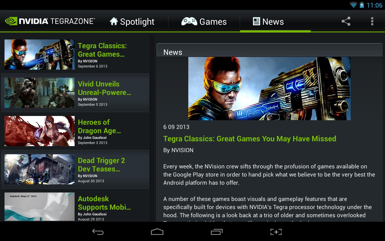 Nvidia-TegraZone-Focus-news