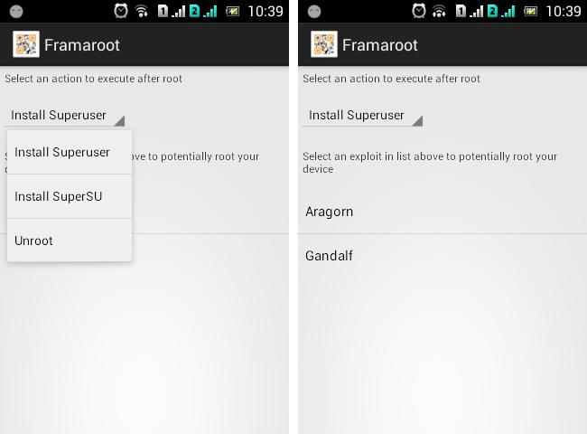 Framaroot free apps