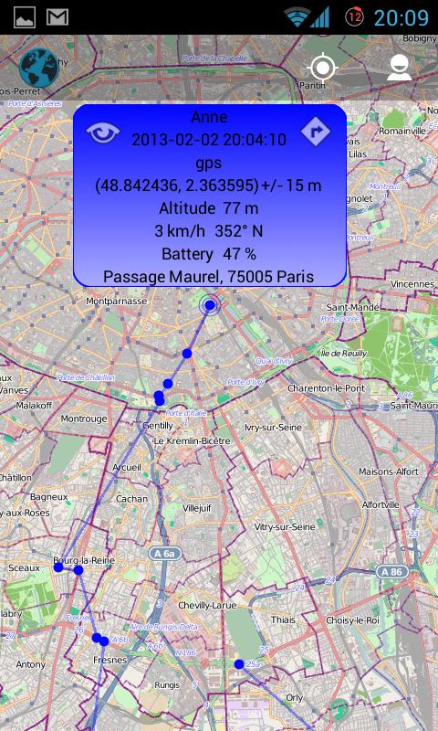 GeoPing-geolocalisation
