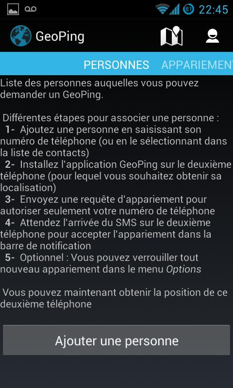 GeoPing-personnes
