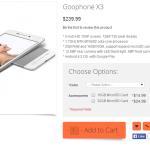 Goophone X3: un clone du Vivo X3S