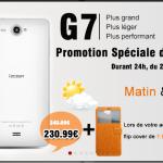 Offre speciale iOcean G7 sur lenteen.fr