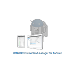 Ponydroid Download Manager : un Jdownloader pour android