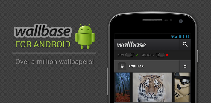 Wallbase-HD-Wallpapers free apps