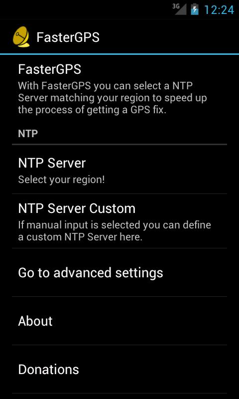 Faster GPS free apps