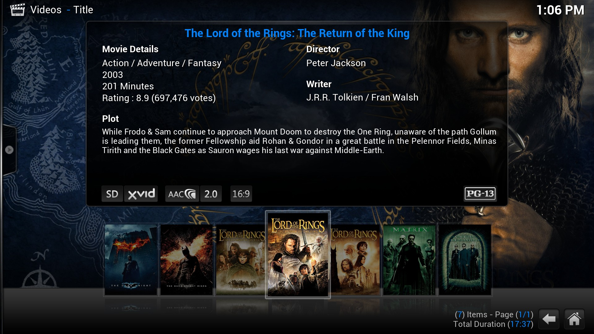 xbmc-movie info free apps