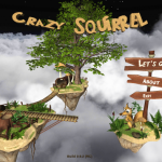 Crazy Flying Squirrel: un jeu bien délire