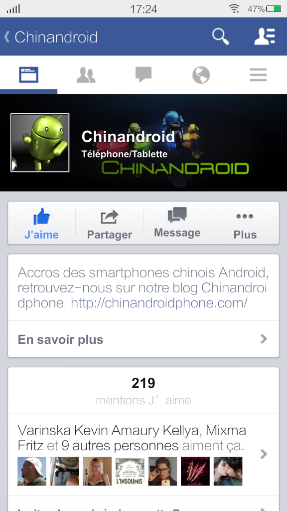 Facebook v9 Page-Chinandroid free apps