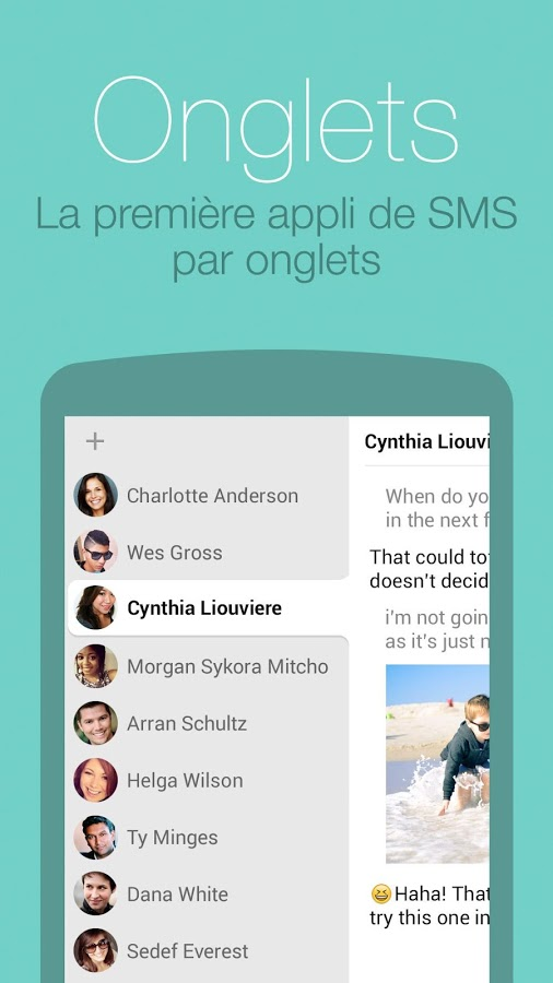 hello-sms - onglet - free apps