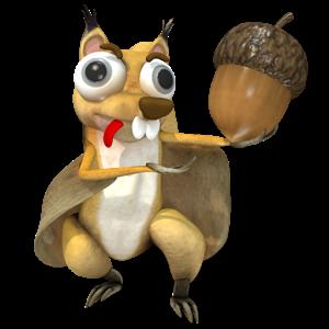 Crazy Flying Squirrel - un clone de scrat free apps