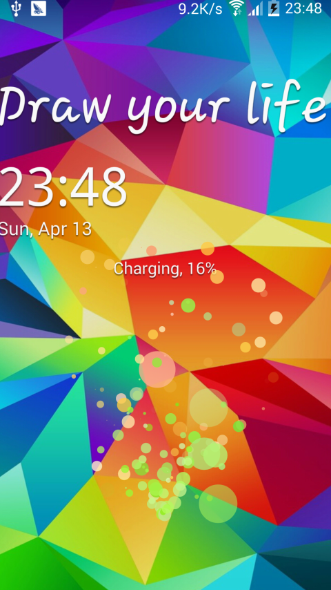 Galaxy Lockscreen free apps