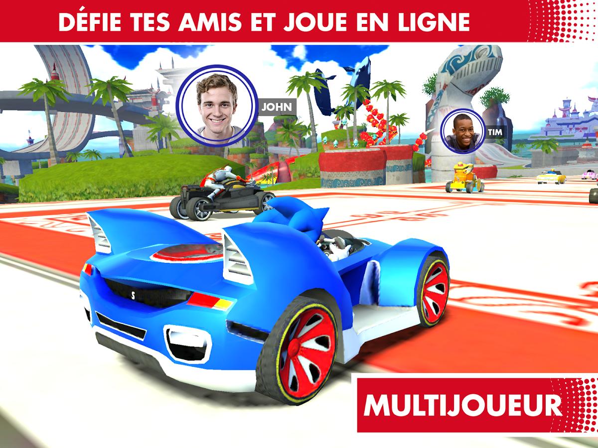 Sonic Racing Transformed-Multijoueurs