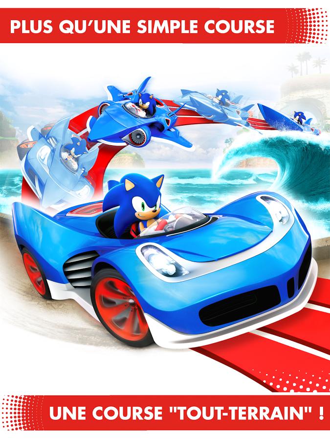 Sonic Racing Transformed - Mode du vehicule