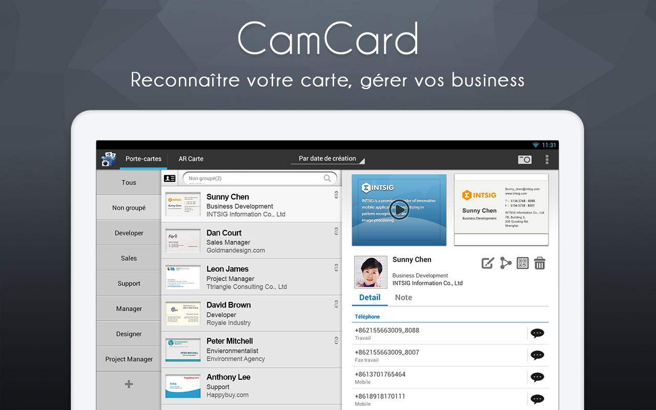 CamCard Lite free apps