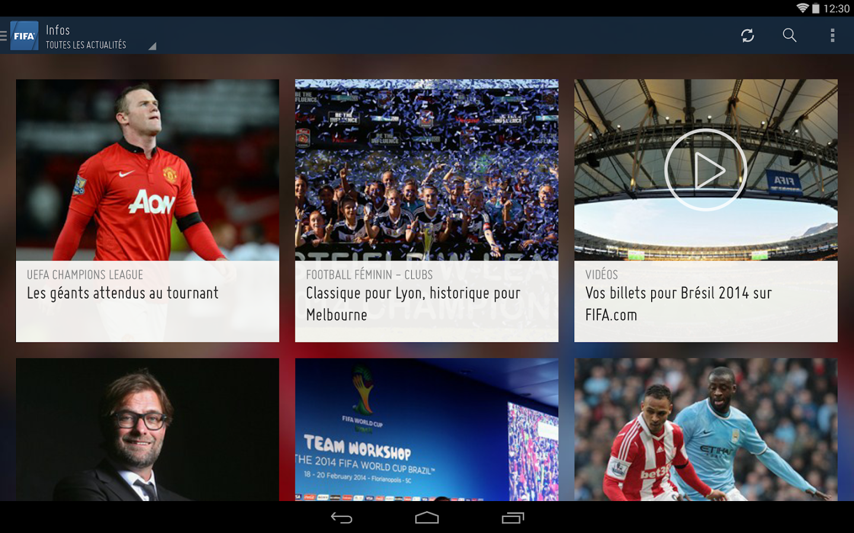 FIFA-Actualité free apps