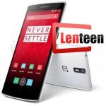 Stock OnePlus One sur Lenteen.fr