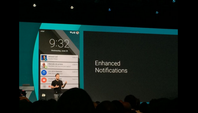 Android L - notifications