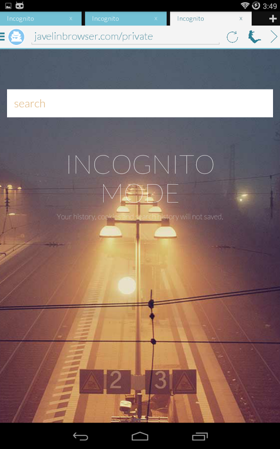 Javelin Browser - Incognito free apps