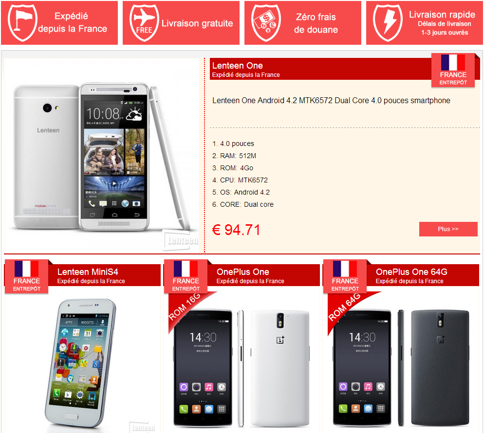 OnePlus One France