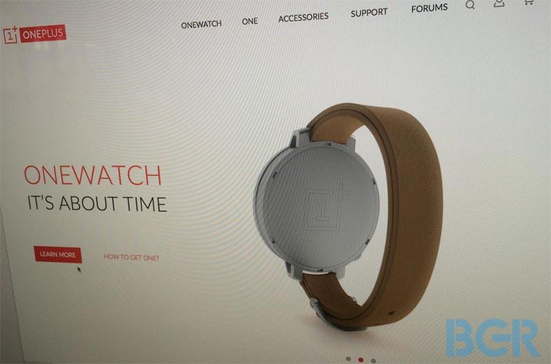 OnePlus OneWatch-web