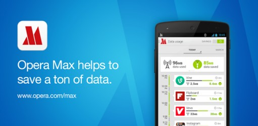 Opera Max beta - Data manager free apps