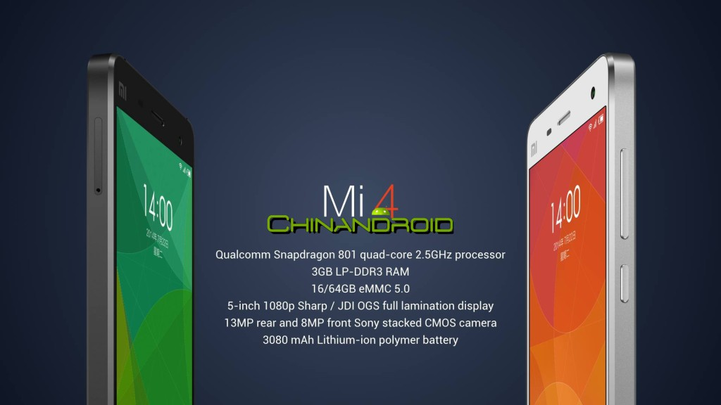 Video Xiaomi Mi4