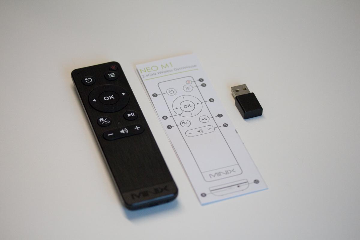 MINIX NEO X8-H - télécommande