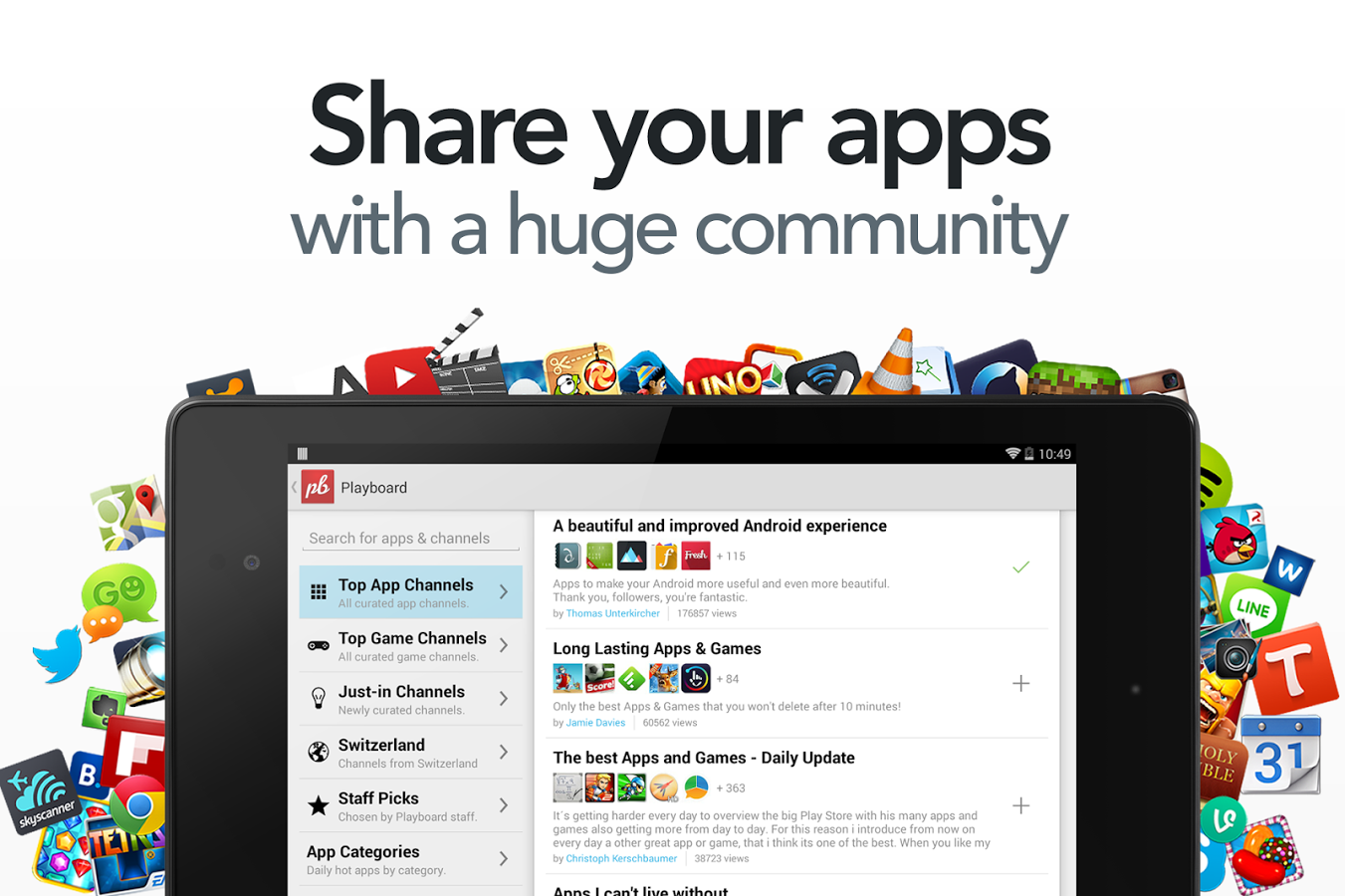Playboard - Share free apps