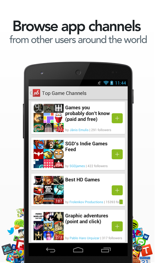 Playboard - browse channels free apps
